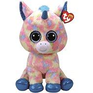 Beanie Boos Blitz - blue unicorn 42 cm - Plyšová hračka