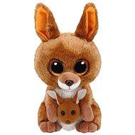 Beanie Boos Kipper - brown kangaroo 24 cm - Plyšová hračka
