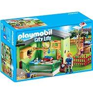 Playmobil 9276 Chovná stanice pro kočky - Stavebnice