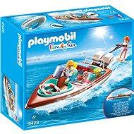 Playmobil 9428 Motorový člun s podvodním motorem - Stavebnice