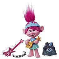 Trolls zpívající figurka Poppy s rockovým příslušentvím - Figurka