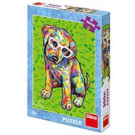 Dino Štěňátko s brýlemi  - Puzzle