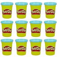 Play-Doh balení 12 ks kelímků modrá - Modelovací hmota