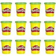 Play-Doh balení 12 ks kelímků zelená - Modelovací hmota