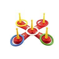Házecí hra kříž s kruhy - Venkovní hra