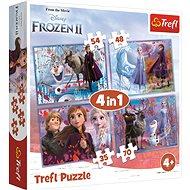 Puzzle 4v1 Ledové království II
