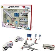 MaDe Set of ČSA  at the Airport - RC Plane