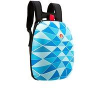 Zipit Shell batoh modré trojúhelníky - Městský batoh