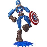Avengers Bend And Flex Captain America - Figure