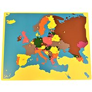 Puzzle - map of Europe - without frame - Puzzle
