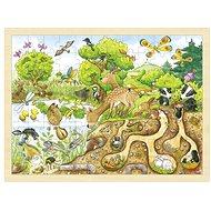 Příroda – dřevěné puzzle 96 dílů - Puzzle
