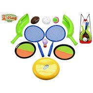 2-Play Sports Set in a Mesh Backpack - Sport Set
