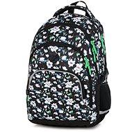 Batoh  OXY SCOOLER Flowers - Školní batoh