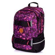 Batoh OXY Sport Camo girl - Školní batoh