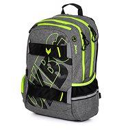 Batoh OXY Sport GREY LINE green - Školní batoh