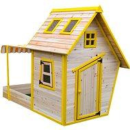 Domeček dětský dřevěný s pískovištěm Flinky - Dětský domeček
