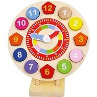 Dřevěné hodiny vkládací - Didaktická hračka