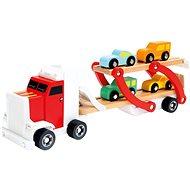 Didaktická hračka Návěs s auty