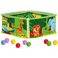 Bazének s balónky, zelený - Bazének s míčky