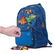 Pixie Crew dětský batoh dino modrý - Dětský batoh