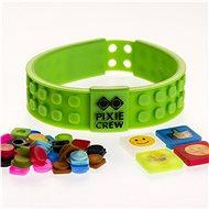 Pixie Crew náramek emoji zelený - Dětský náramek