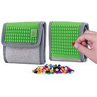 Pixie Crew peněženka šedá/zelená - Dětská peněženka