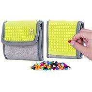 Pixie Crew peněženka šedá/neon žlutá - Dětská peněženka