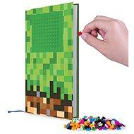 Pixie Crew deník a5 minecraft zeleno-hnědý