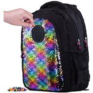 Pixie Crew studentský batoh s flitry - Školní batoh