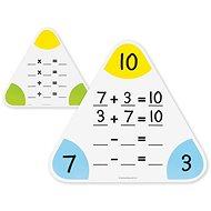 Matematické smazatelné tabulky - Didaktická hračka