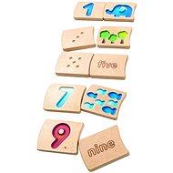 PlanToys čísla 1 - 10 (aj)