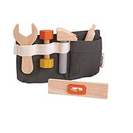 """PlanToys tool bag """"planlifestyle"""" - Wooden Toy"""