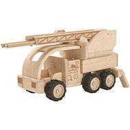 PlanToys hasičské auto (speciální edice) - Dřevěný model