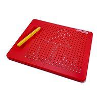Magnetická kreslící tabulka Magpad - červená - 380 kuliček - Tabule