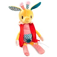 Didaktická hračka Lilliputiens - žirafa Zia - učíme se oblékat