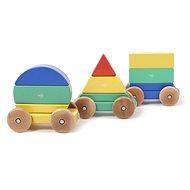 Magnetic rainbow train TEGU - Big Top - Wooden Toy