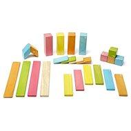 Magnetická stavebnice TEGU Tints - 24 dílů - Dřevěná stavebnice