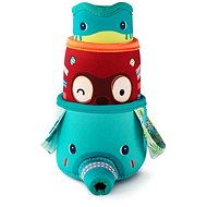 Lilliputiens - 3 kelímky z džungle - hračka do vody - Hračka do vody