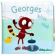 Lilliputiens - lemur Georges - knížka do vody - Hračka do vody
