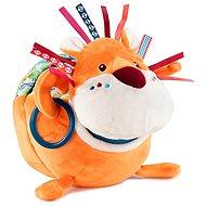 Lilliputiens - lev Jack, objevitel - plyšová hračka s aktivitami - Hračka pro nejmenší
