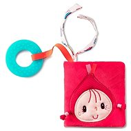 Lilliputiens - Little Red Riding Hood - a textile book with a teether - Baby Rattle & Teether