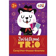 4bambini Zvířátkové trio - Karetní hra