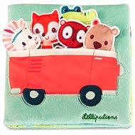 Lilliputiens - Louise a přátelé - textilní knížka - Kniha pro děti