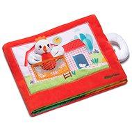 Lilliputiens - textilní knížka - slepička Paulette hledá kuřátka - Kniha pro děti