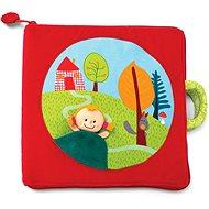 Lilliputiens - textilní knížka - Červená Karkulka - Kniha pro děti