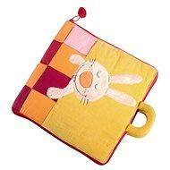 Lilliputiens - textilní knížka - Dobrou noc, malý králíčku - Kniha pro děti