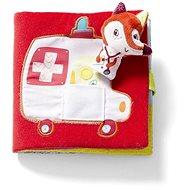 Lilliputiens - Textilní knížka - Doktorka Alice - Kniha pro děti