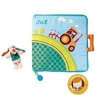 Lilliputiens - textilní knížka - Jef na farmě - Kniha pro děti