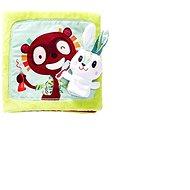 Lilliputiens - Textilní knížka - Králíček zubařem - Kniha pro děti