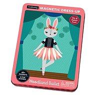 Magnetická krabička - Lesní baletky - Puzzle